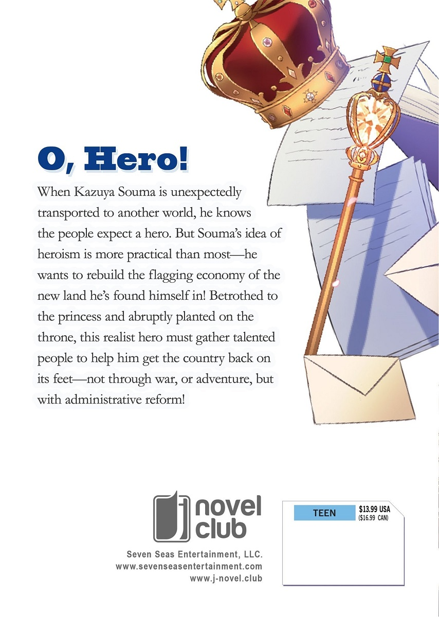 How a Realist Hero Rebuilt the Kingdom Novel Volume 1