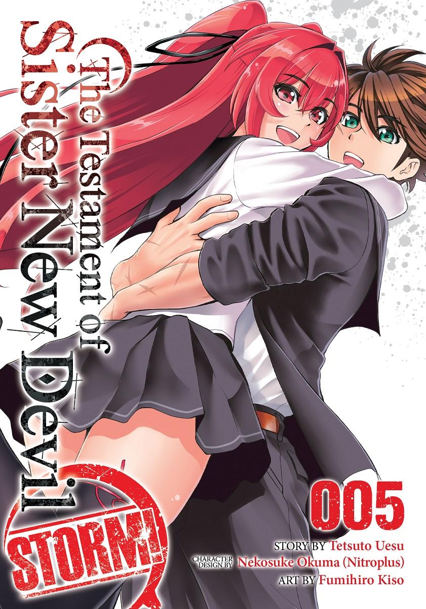 The Testament of Sister New Devil Storm! Manga Volume 5