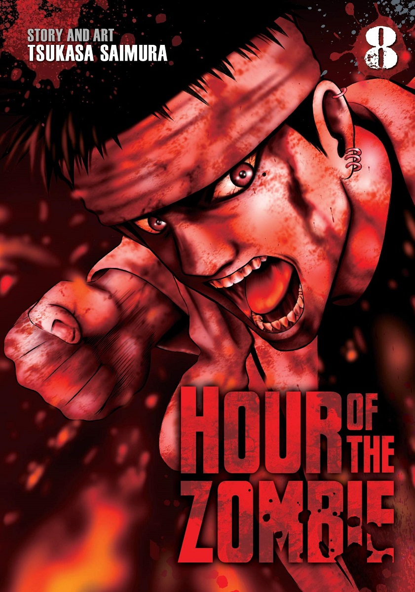 Hour of the Zombie Manga Volume 8