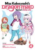 Miss Kobayashi's Dragon Maid Kanna's Daily Life Manga Volume 4