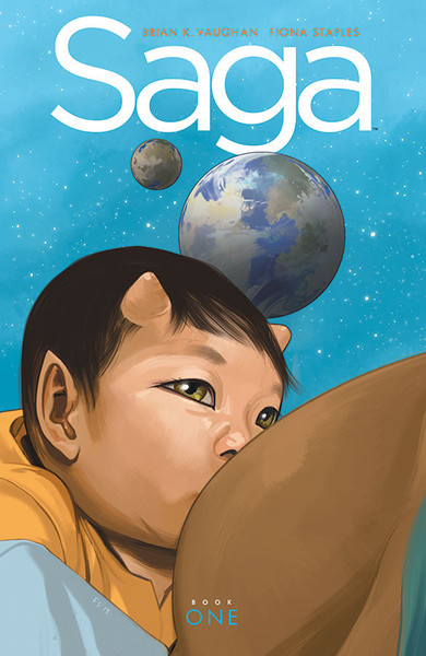 Saga Book One Graphic Novel (Hardcover)