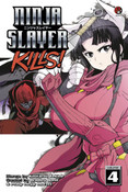 Ninja Slayer Kills Manga Volume 4