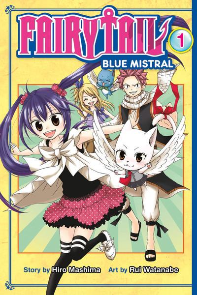Fairy Tail Blue Mistral Manga Volume 1