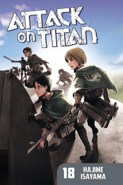 Attack on Titan Manga Volume 18