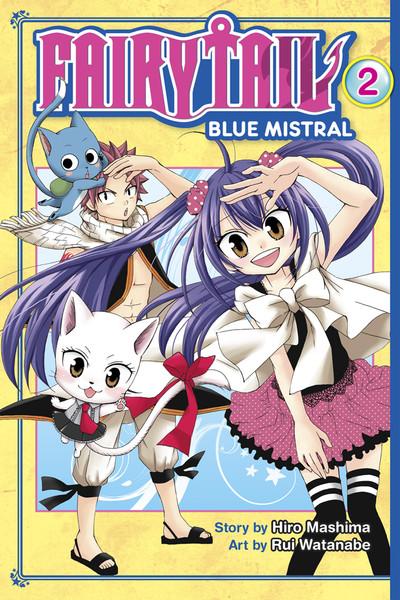 Fairy Tail Blue Mistral Manga Volume 2