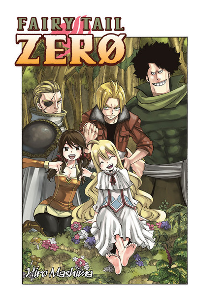 Fairy Tail Zero Manga