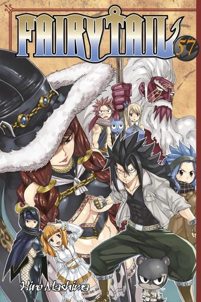 Fairy Tail Manga Volume 57