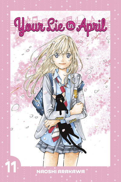 Your Lie In April Manga Volume 11