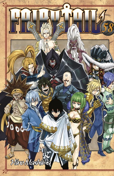 Fairy Tail Manga Volume 58