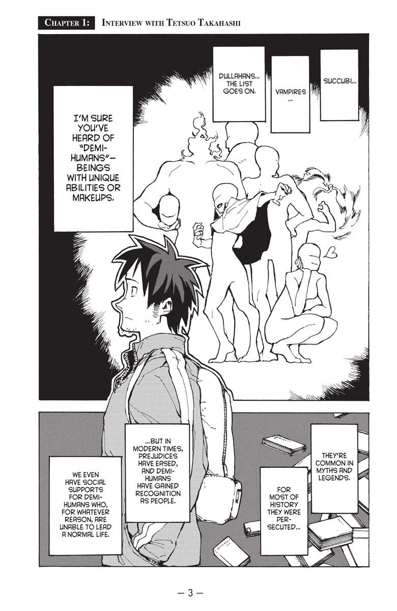 Interviews with Monster Girls Manga Volume 1