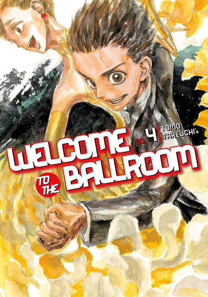 Welcome to the Ballroom Manga Volume 4