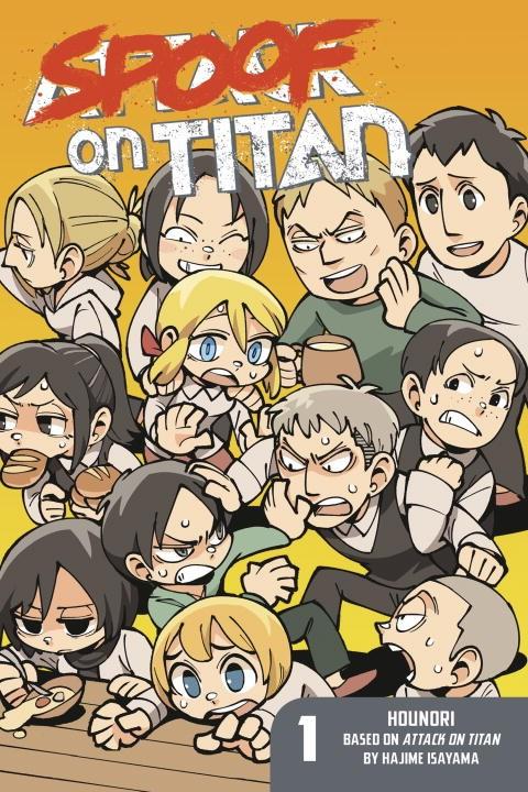 Spoof on Titan Manga Volume 1 9781632364081