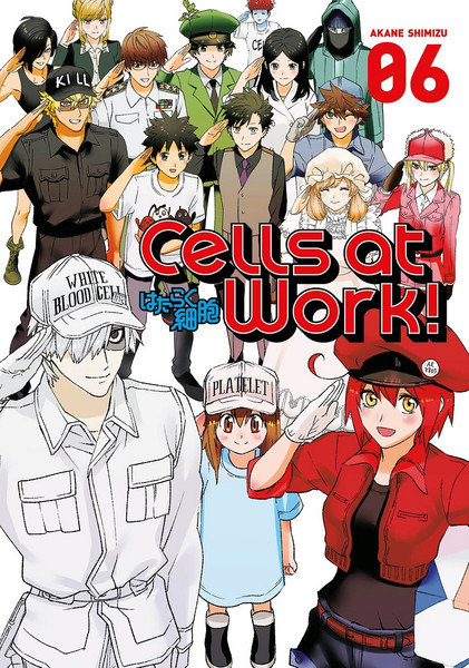 Cells at Work! Manga Volume 6