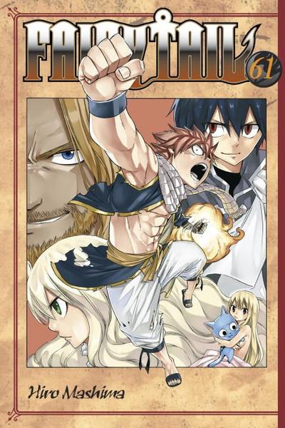 Fairy Tail Manga Volume 61
