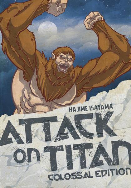 Attack on Titan Colossal Edition Manga Volume 4