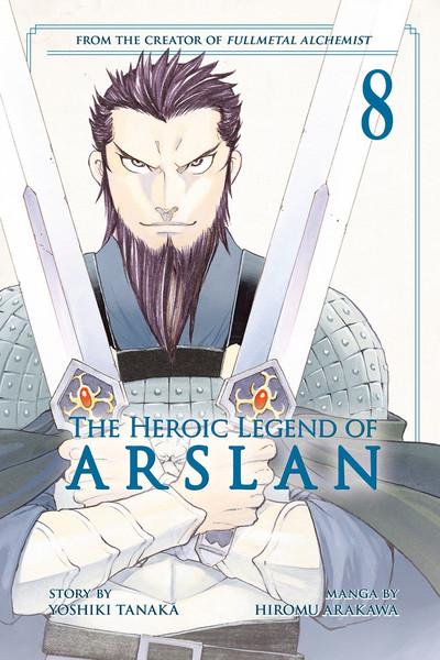 The Heroic Legend of Arslan Manga Volume 8
