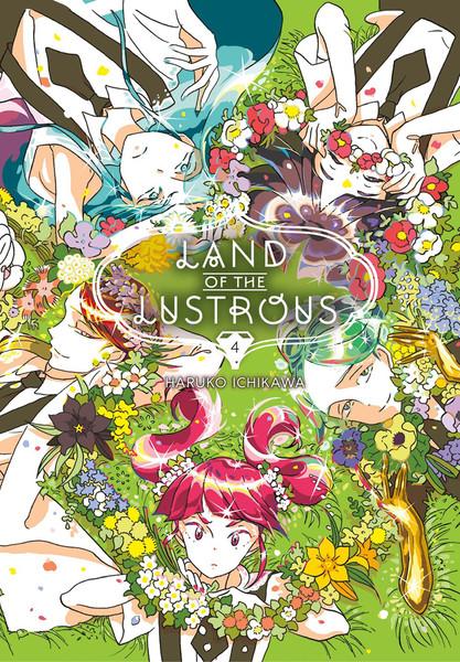 Land of the Lustrous Manga Volume 4