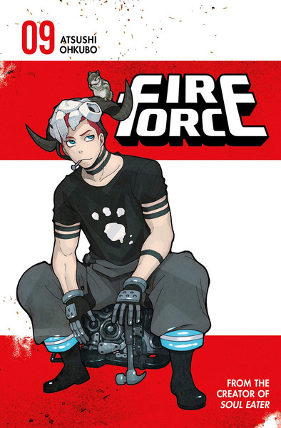 Fire Force Manga Volume 9