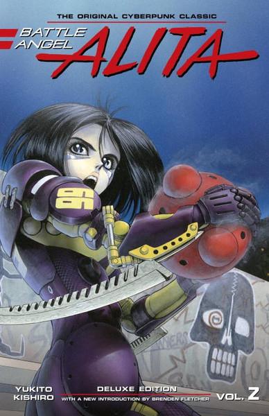 Battle Angel Alita Deluxe Edition Manga Volume 2 (Hardcover)