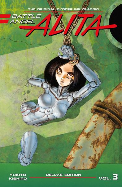 Battle Angel Alita Deluxe Edition Manga Volume 3 (Hardcover)