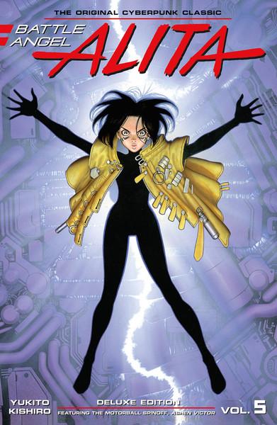 Battle Angel Alita Deluxe Edition Manga Volume 5 (Hardcover)