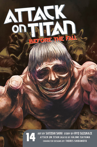 Attack on Titan Before The Fall Manga Volume 14