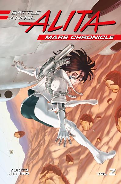Battle Angel Alita Mars Chronicle Manga Volume 2
