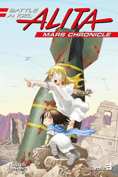 Battle Angel Alita Mars Chronicle Manga Volume 3
