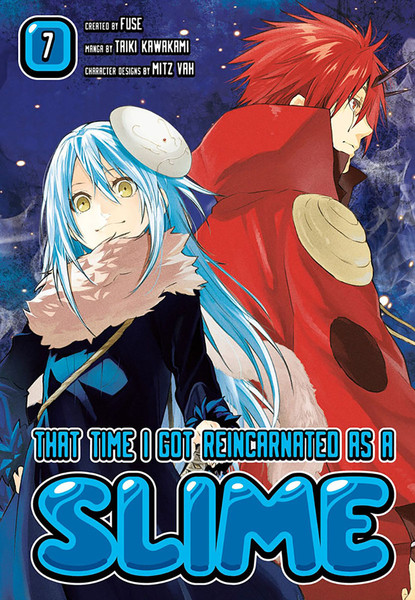 That Time I Got Reincarnated as a Slime Manga Volume 7