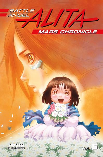 Battle Angel Alita Mars Chronicle Manga Volume 5