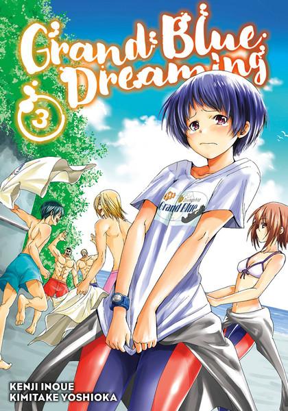 Grand Blue Dreaming Manga Volume 3