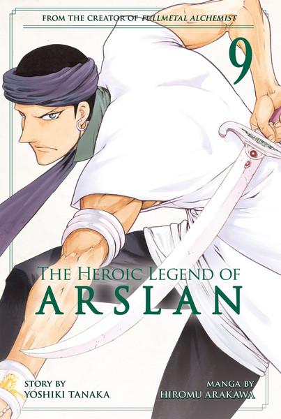 The Heroic Legend of Arslan Manga Volume 9