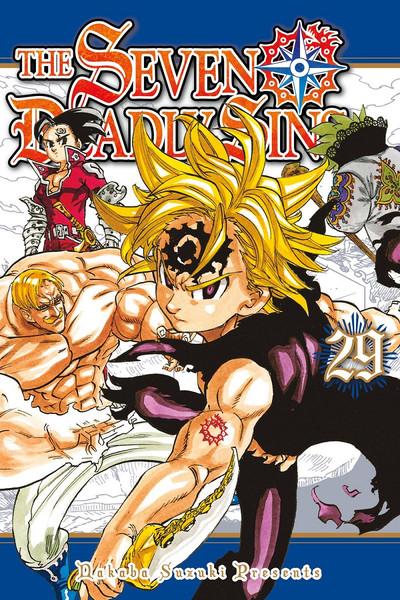 The Seven Deadly Sins Manga Volume 29
