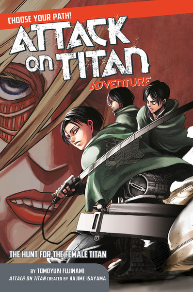 Attack on Titan Choose Your Path Adventure Volume 2