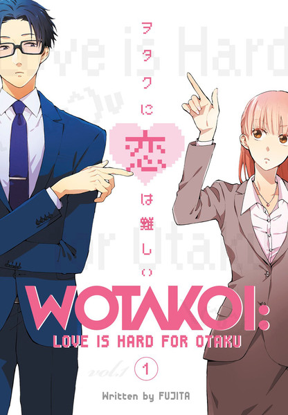 Wotakoi Love Is Hard For Otaku Manga Volume 1