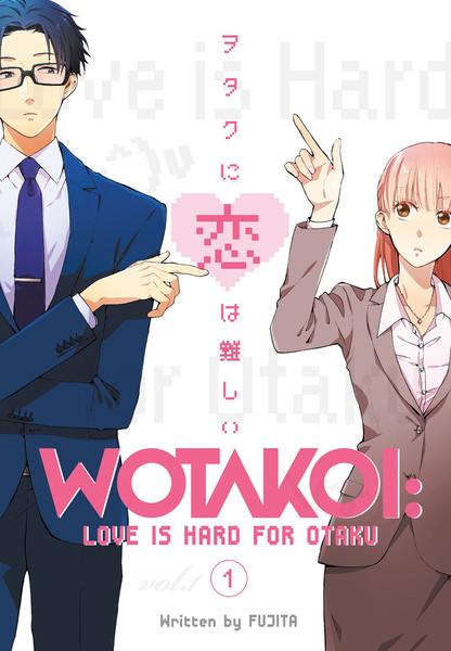 Wotakoi Love Is Hard for Otaku Manga Volume 1