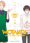 Wotakoi Love Is Hard for Otaku Manga Volume 3