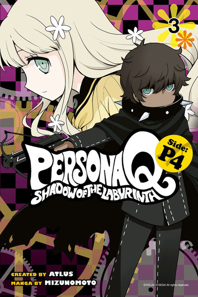 Persona Q Shadow of the Labyrinth Side P4 Manga Volume 3