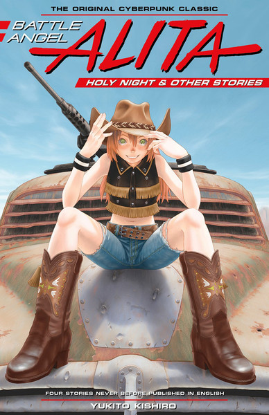 Battle Angel Alita Holy Night and Other Stories Manga (Hardcover)