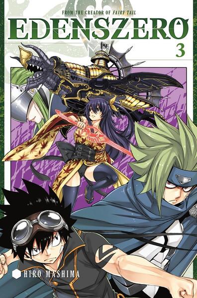Edens Zero Manga Volume 3