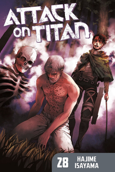 Attack on Titan Manga Volume 28