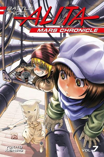 Battle Angel Alita Mars Chronicle Manga Volume 7
