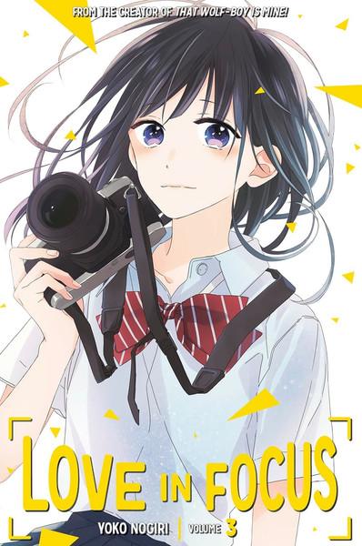 Love In Focus Manga Volume 3
