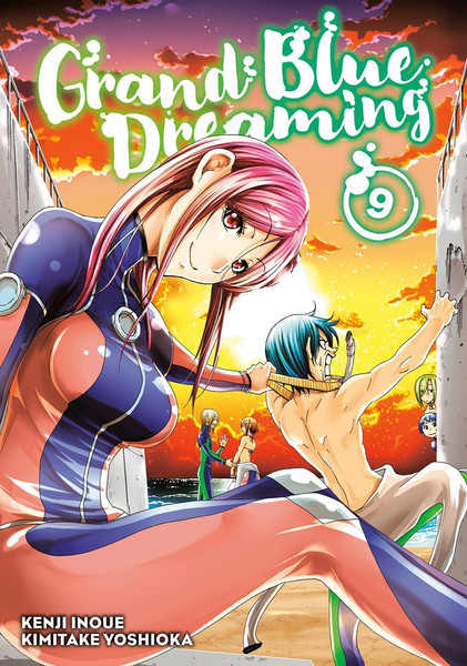 Grand Blue Dreaming Manga Volume 9