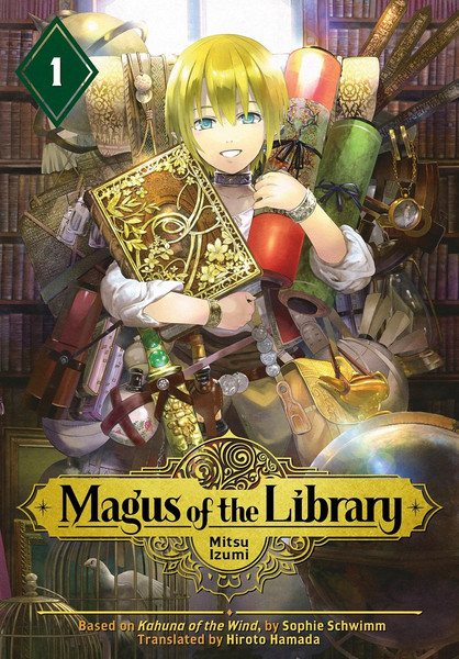 Magus of the Library Manga Volume 1