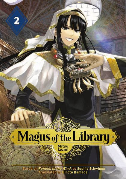 Magus of the Library Manga Volume 2