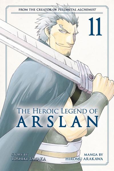 The Heroic Legend of Arslan Manga Volume 11