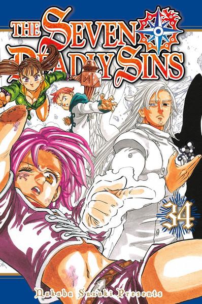The Seven Deadly Sins Manga Volume 34