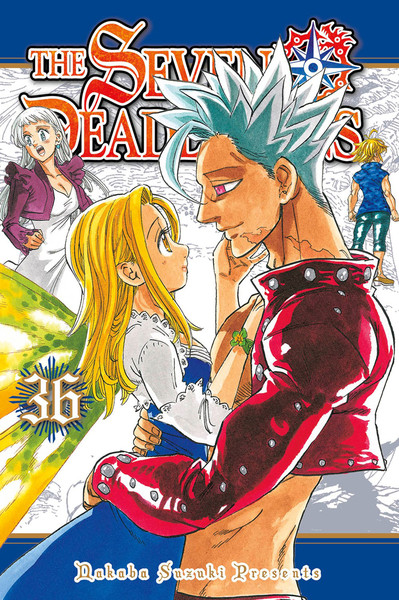 The Seven Deadly Sins Manga Volume 36