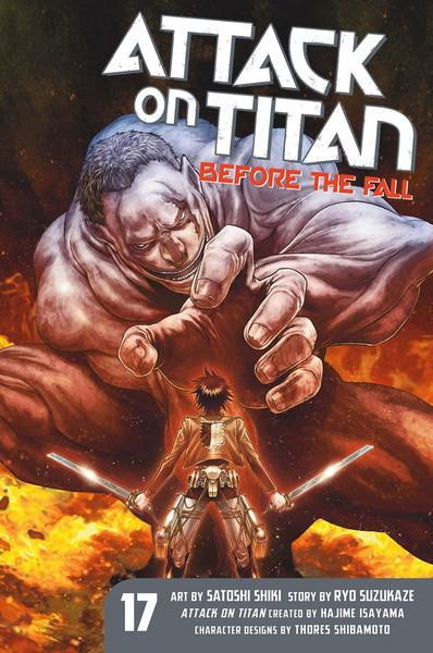 Attack on Titan Before the Fall Manga Volume 17